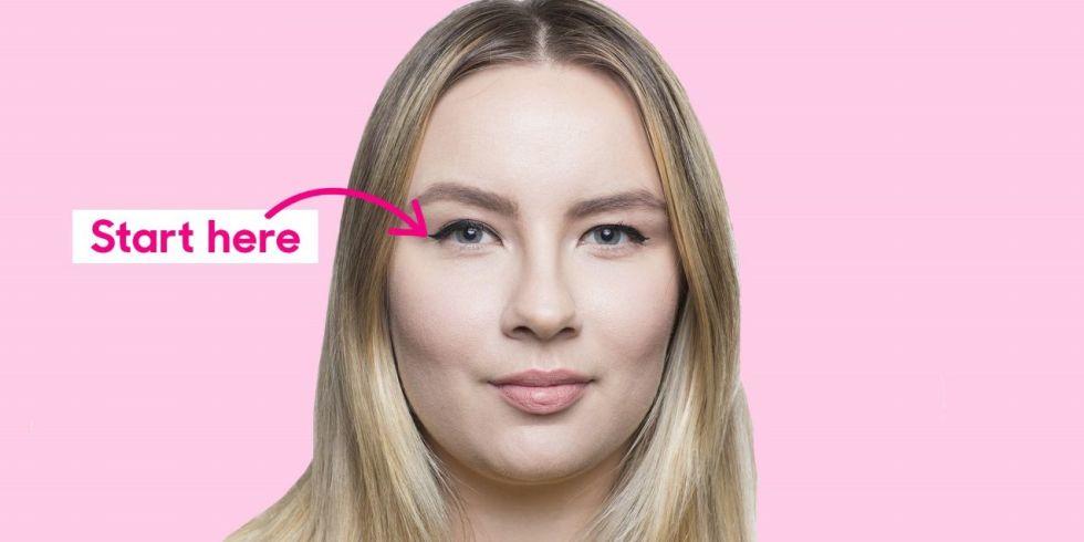 How to Apply Cat Eyeliner on Hooded Eyes - Winged Liner Tutorial ...