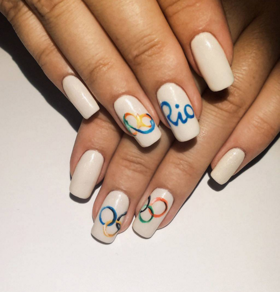 10 Olympic Nail Art Ideas That Deserve a Gold MedalRio 2016