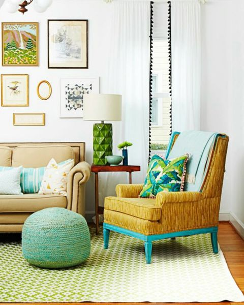 fancy up curtains or pillows by adding pom poms along the edge update an - Home Decor Tips