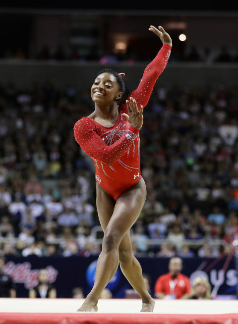 13 fun facts about olympic gymnast simone biles - Simone biles pics ...