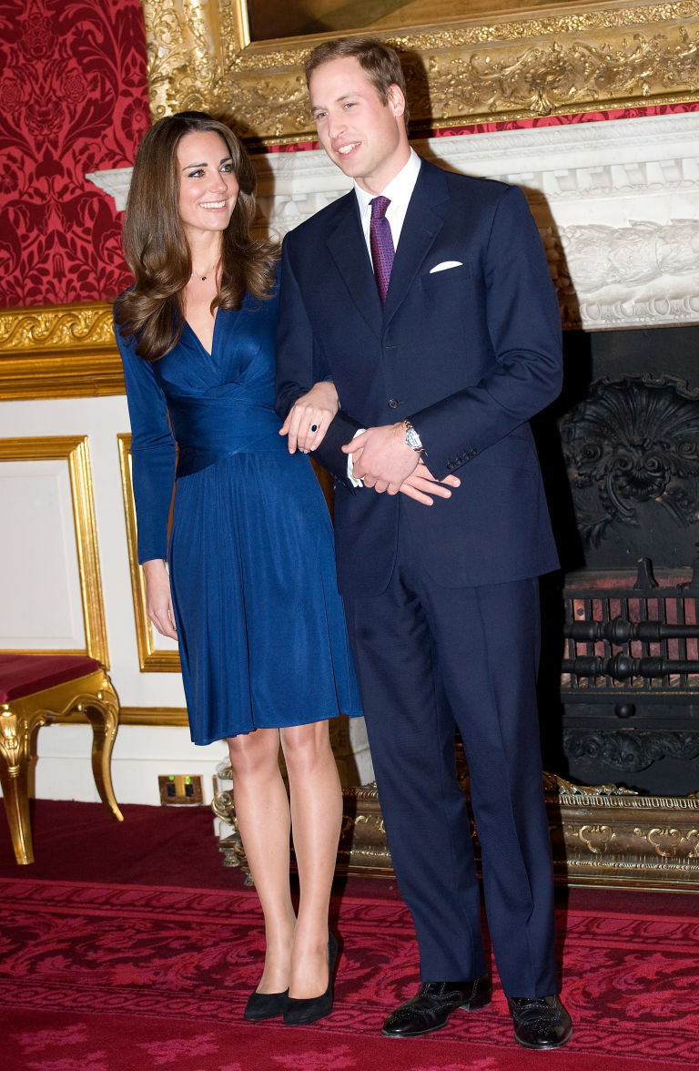 You Can Now Get Kate Middleton&39s Blue Engagement Dress for Less ...