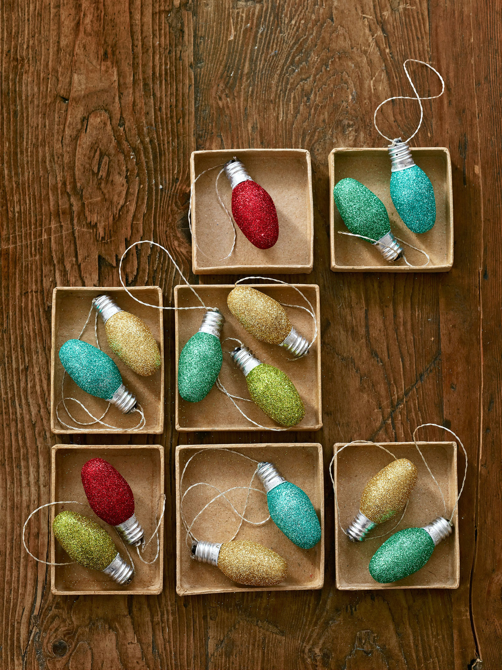 Christmas decorations to make yourself - 50 Homemade Christmas Ornaments Diy Handmade Holiday Tree Ornament Craft Ideas