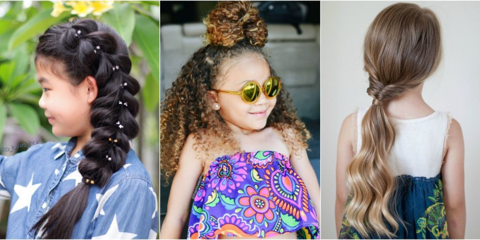 Groovy 23 Beautiful Kids Hairstyles To Try On Your Daughter Short Hairstyles For Black Women Fulllsitofus