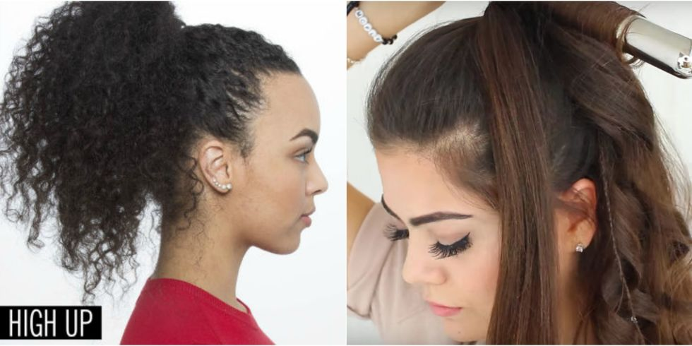 Peachy 11 Easy Ponytail Hairstyles Best Ideas For Ponytail Styles Short Hairstyles Gunalazisus