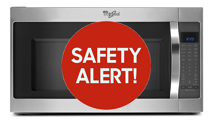 Whirlpool Recalls Microwaves Due To Fire Hazard Are Catching