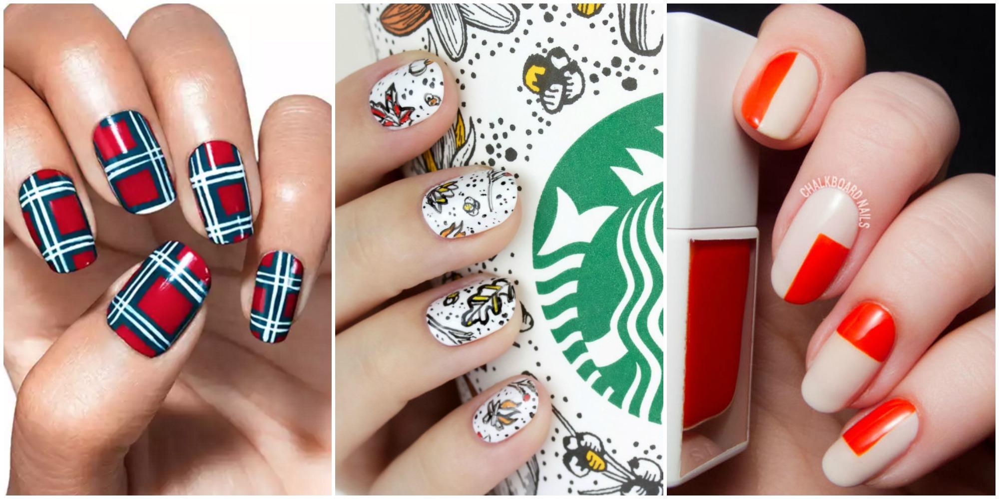 21 Thanksgiving Nail Art Designs Ideas For November Nails