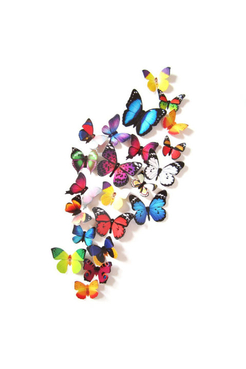 ($7, amazon.com) Let your teen decorate her room with these realistic, 3-D butterfly stickers. The set includes 19 different butterflies that look amazing together or spread out on the wall.