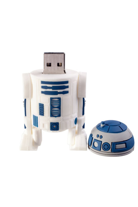 ($7, amazon.com) The new Star Wars movie comes out right around the holidays, so show your nieces and nephews you know what's up with this USB drive shaped like R2-D2.