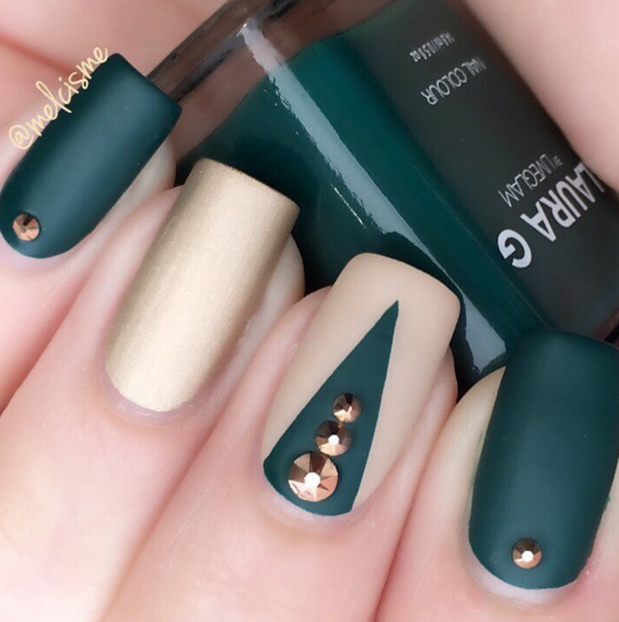 35 fall nail art ideas best nail designs and tutorials for fall 2017 prinsesfo Images