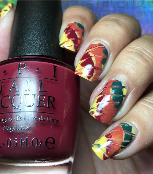 fall nail art designs