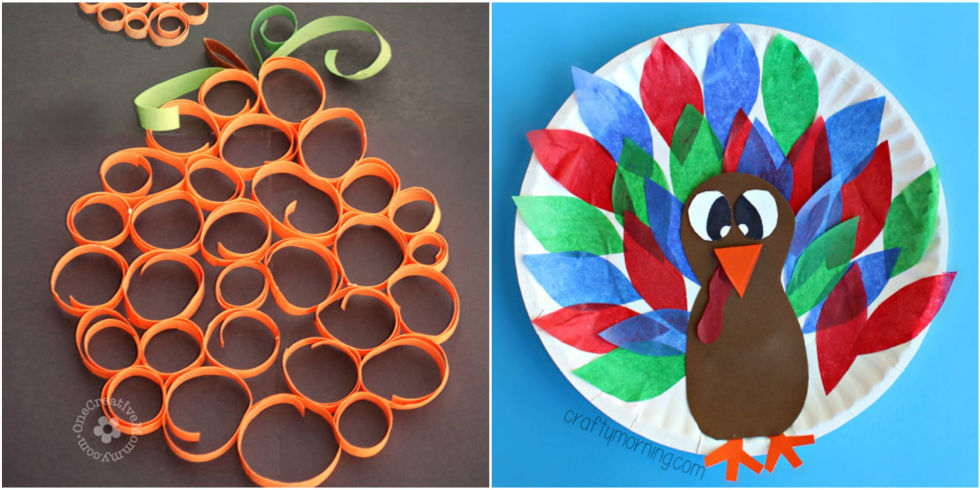 kids craft ideas for thanksgiving