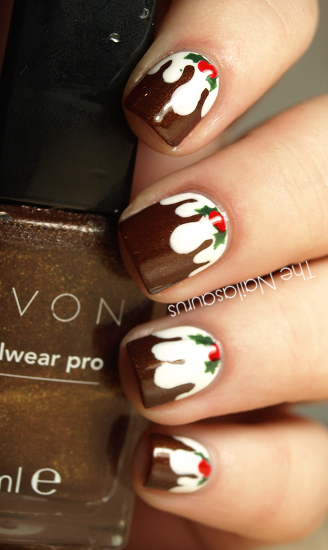 32 festive christmas nail art ideas easy designs for holiday nails - Nail Polish Design Ideas