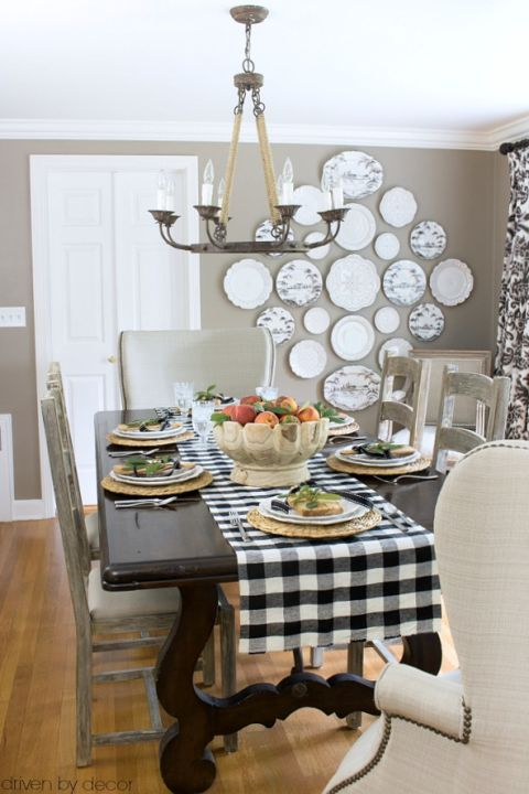Nice Home Dining Rooms. Driven By Decor s Dining Room 2016 Fall Blogger Home Tours  Eclectically