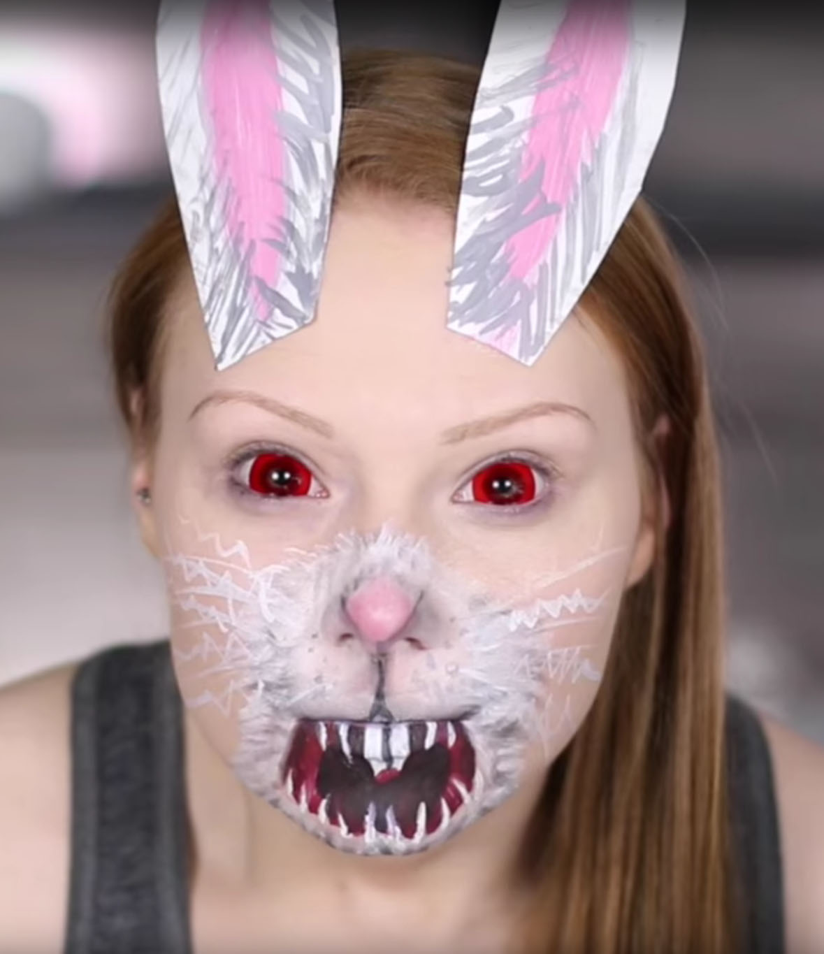 Uncategorized Bunny Nose Face Paint 15 diy snapchat filter costumes best ideas for makeup halloween costumes