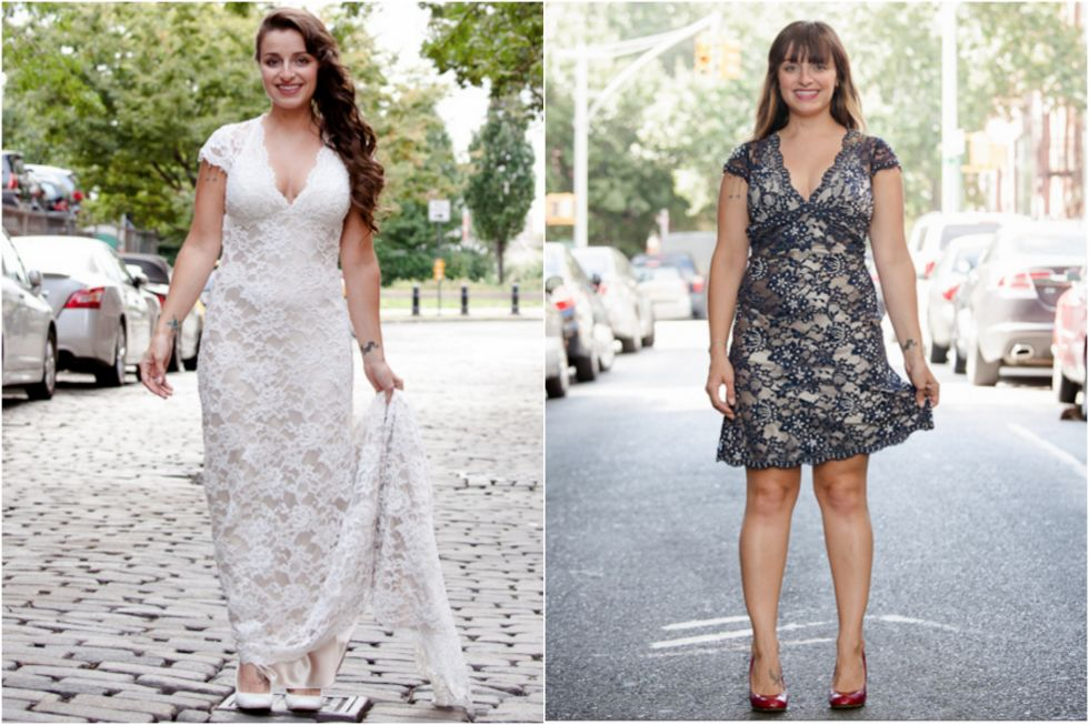9 Wedding Dress Transformations That Are Seriously Incredible