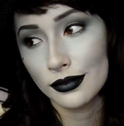 40 Easy Halloween Makeup Ideas & Tutorials 2017 - Cool Halloween ...