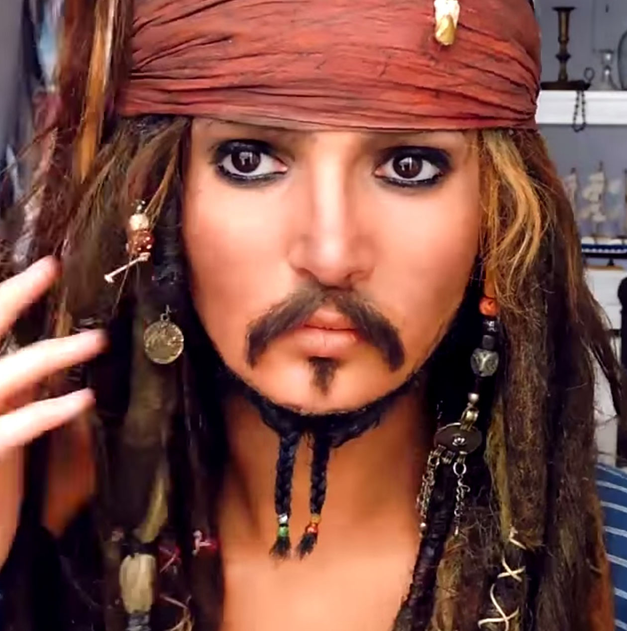 35 easy halloween makeup ideas tutorials 2017 cool halloween costumes with makeup - Jack Sparrow Halloween Costumes