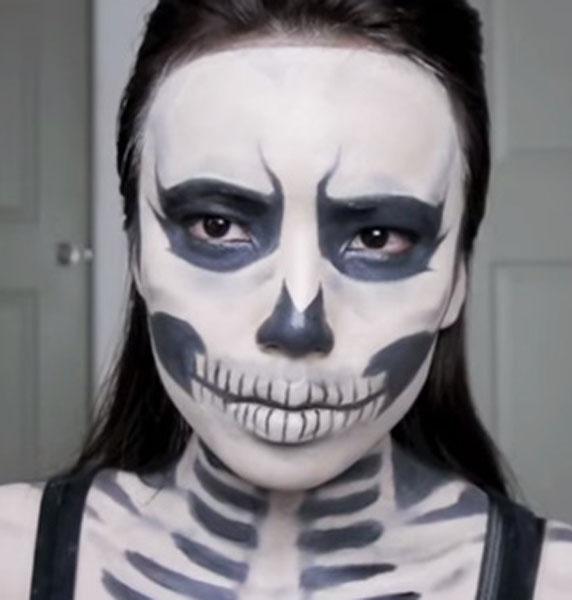 30+ Easy Halloween Makeup Ideas &amp Tutorials  Best - Makeup Only Halloween Costume
