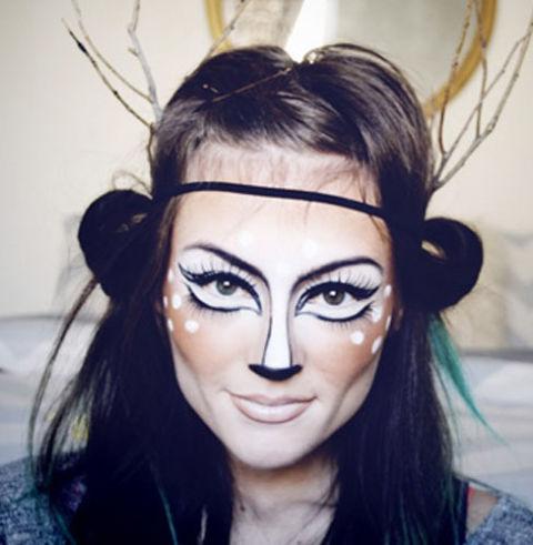 30+ Easy Halloween Makeup Ideas U0026 Tutorials 2017 - Cool Halloween Costumes With Makeup