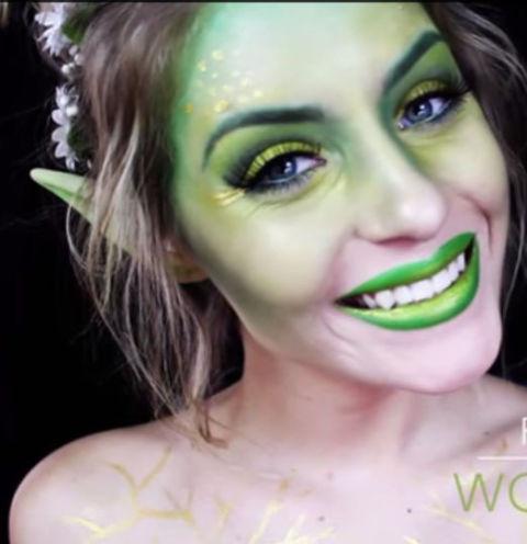 30 easy halloween makeup ideas  tutorials 2017  cool