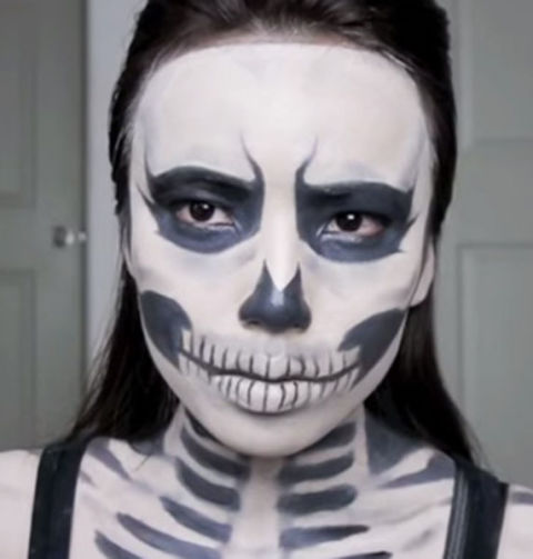30+ Easy Halloween Makeup Ideas &amp Tutorials 2017  Cool - Makeup Only Costumes