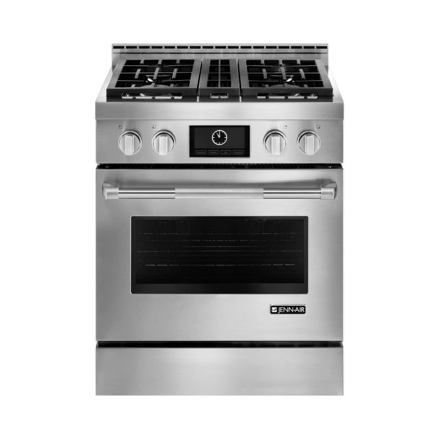 wonderful Jenn Air Kitchen Appliances Reviews #4: Jenn-Air Pro-Style Gas Range with MultiMode Convection #JGRP430WP