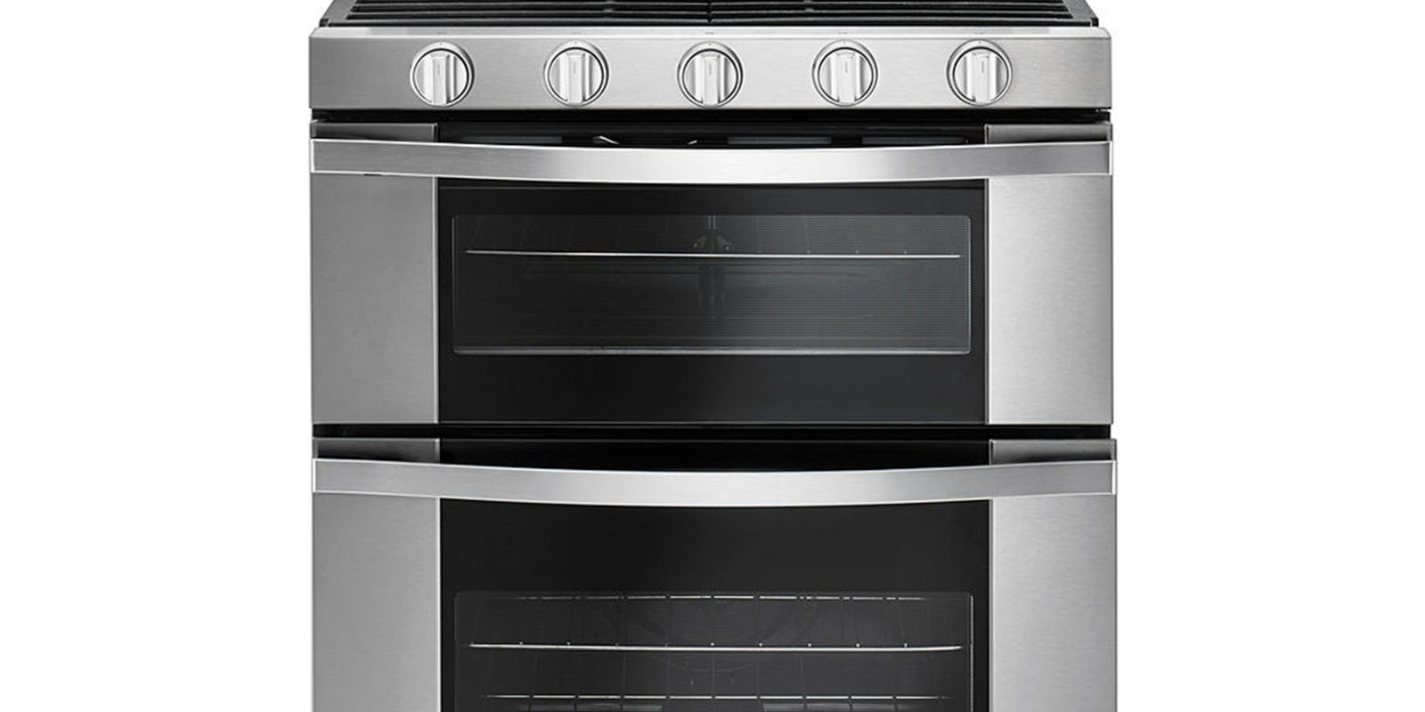 Gas Range Oven Part - 15: Ft. Double Oven Gas Range With AccuBake System #WGG555SOBS Review, Price  And Features
