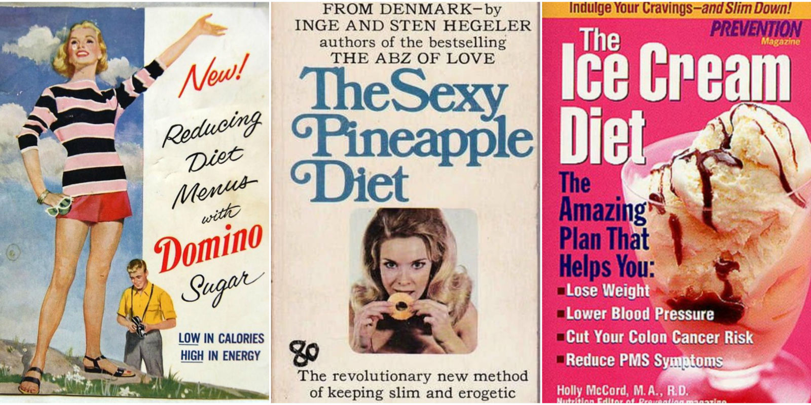 100 Years Of Bad Diet Advice Weight Loss Fads Through