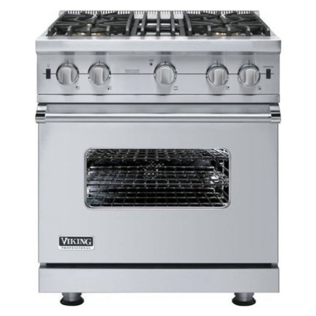 "Viking 30"" Open Burner Gas Range #VGIC53014BSS Review, Price and ..."