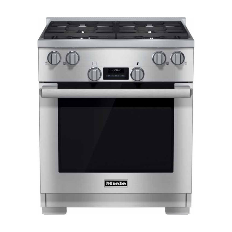 miele 30 all gas range hr1124 review price and features. Black Bedroom Furniture Sets. Home Design Ideas