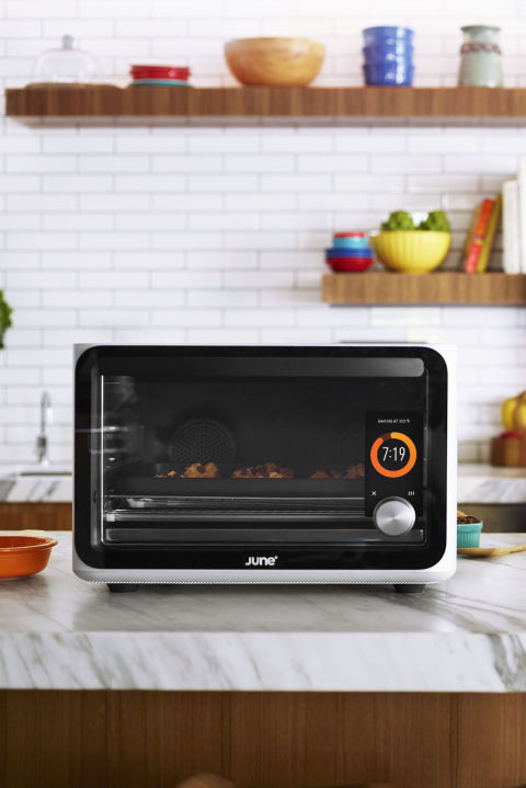 Coming soon, juneoven.com)This toaster oven automatically calculates ...