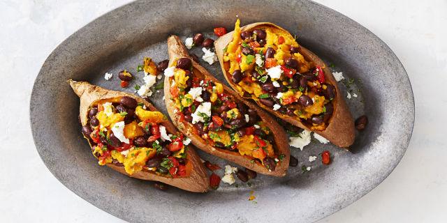 Supercarb Loaded Sweet Potatoes Recipe