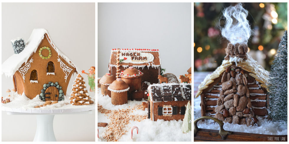 Cool gingerbread houses pictures house and home design for Cool designs for gingerbread houses
