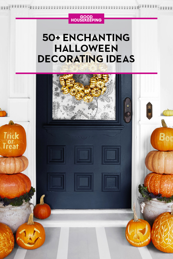60 cute diy halloween decorating ideas 2017 easy halloween house decorations - Halloween Decorations House
