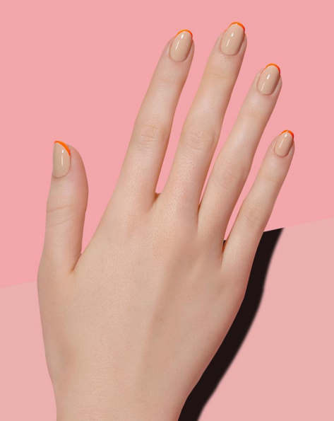 Subtle ways to upgrade your nude manicure easy nail art ideas nude nail art ideas prinsesfo Image collections
