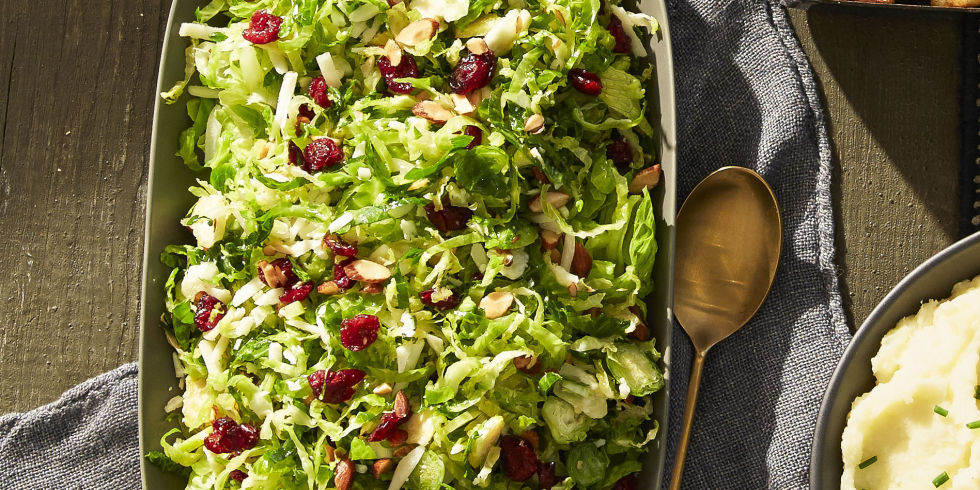Best Lemony Brussels Sprout Salad Recipe How To Make Lemony