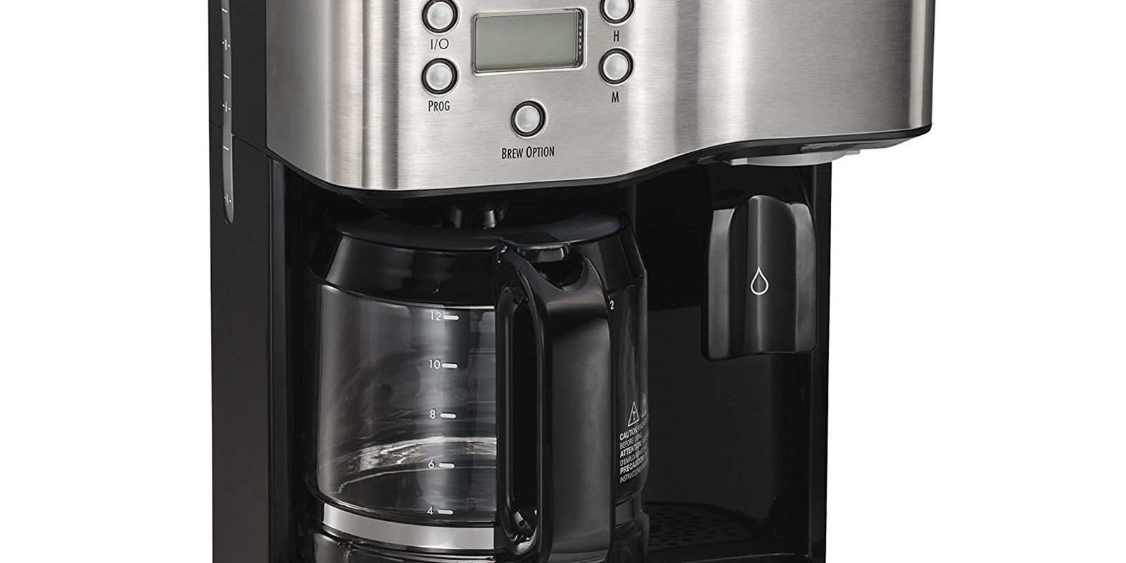 Drip Coffee Maker Hot Water : Hamilton Beach Coffeemaker & Hot Water Dispenser Review, Price and Features