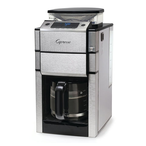 Good Housekeeping Coffee Maker Ratings : Capresso CoffeeTEAMPROPlus Coffeemaker Review, Price and Features