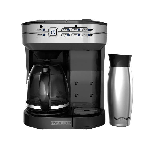 black decker caf select dual brew cm6000bdm coffee maker