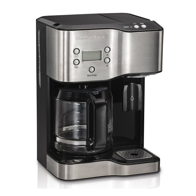 Hamilton Beach Coffee Maker U0026 Hot Water Dispenser #49982