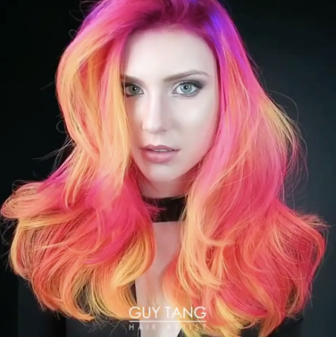 Phoenix hair color will light up your life this glow in for Guy tang salon