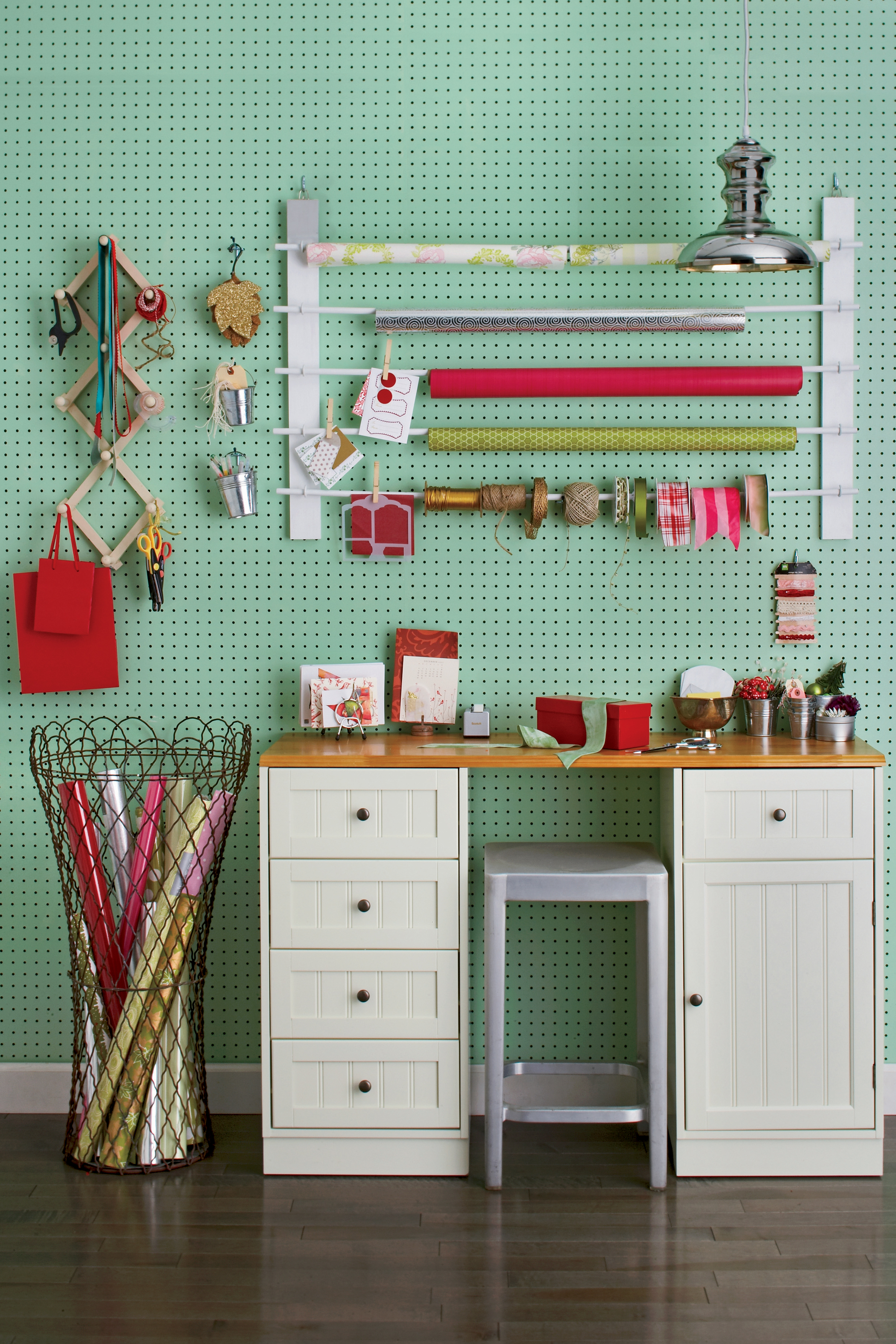 holiday gift wrap organization how to organize wrapping