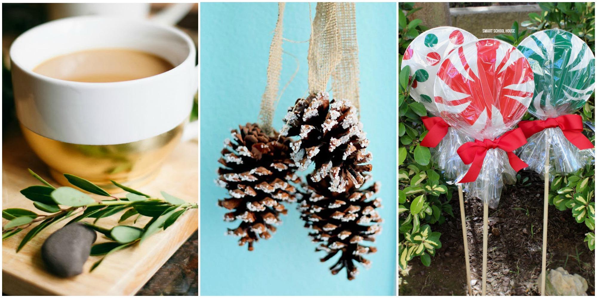 51 trash to treasure christmas crafts diy holiday decorations. Black Bedroom Furniture Sets. Home Design Ideas