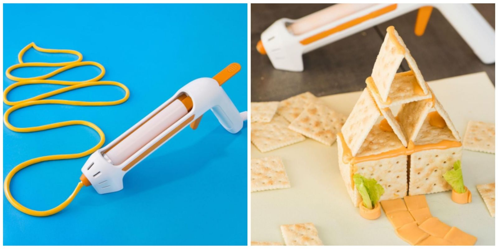 There Is Now a Hot Glue Gun for Cheese and We All Need It
