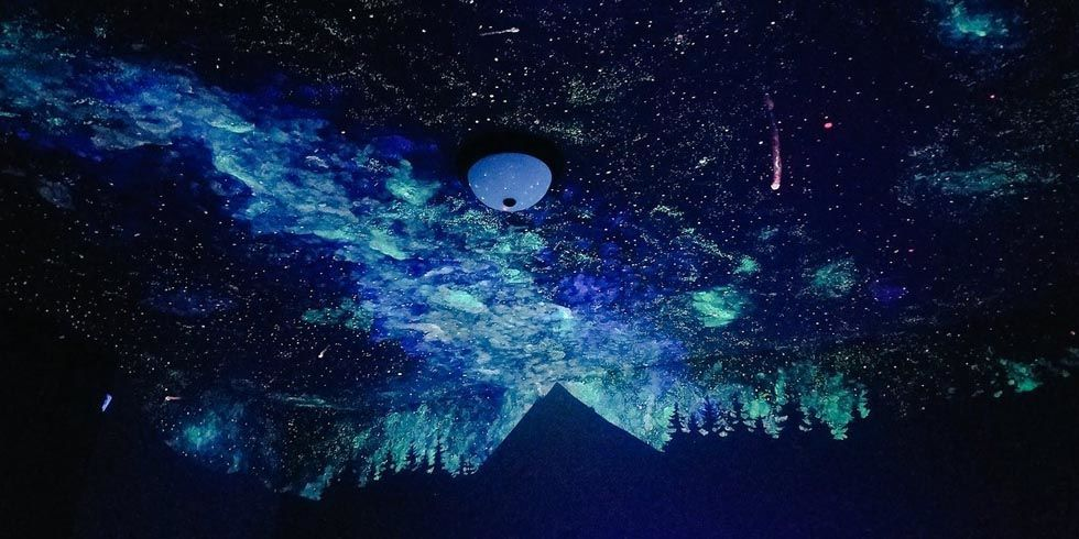glow in the dark boy s bedroom genius bedroom mural