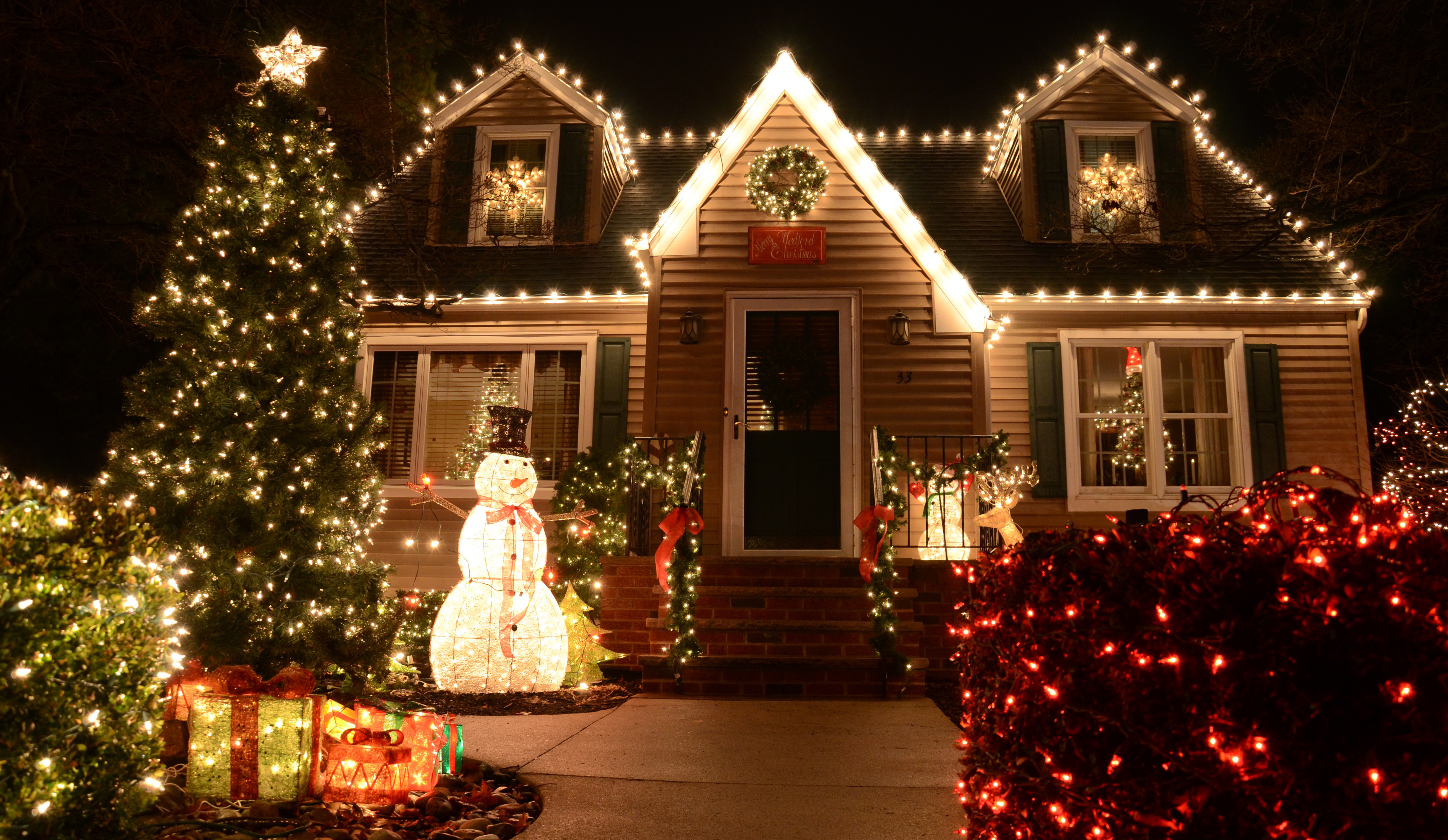 Outdoor Christmas Light Decoration Ideas Outside Christmas - Christmas decoration outdoor ideas