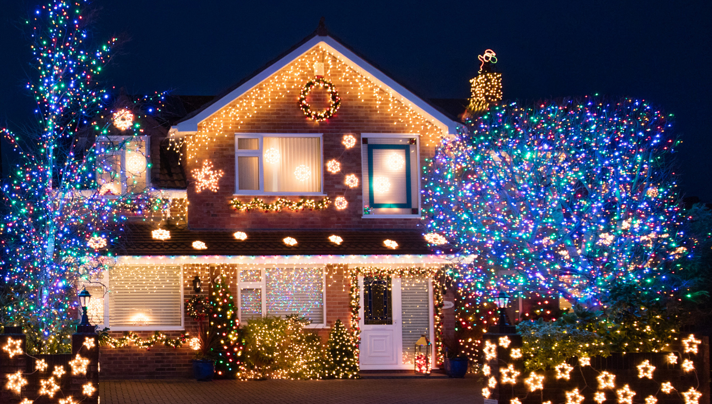 Outdoor Christmas Light Decoration Ideas Outside Christmas
