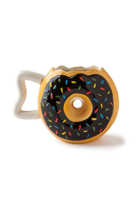 $13 BUY NOW She might not be a morning person now, but we donut doubt this mug will put some extra pep in her step when getting ready for school.