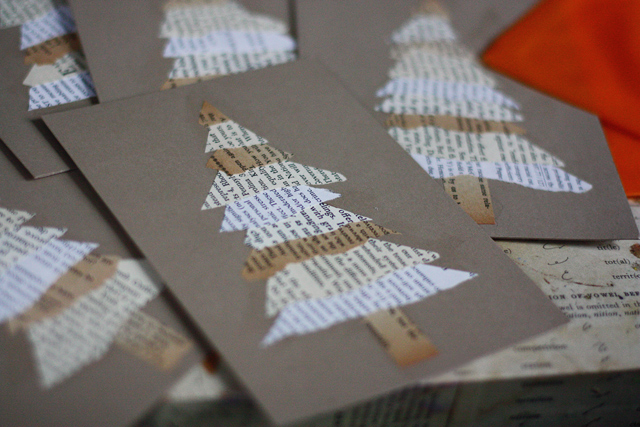36 diy christmas cards how to make homemade holiday cards solutioingenieria Image collections