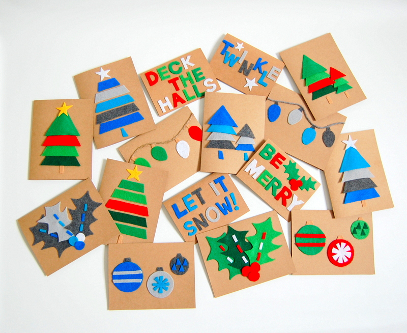 30+ DIY Christmas Cards - How to Make Homemade Holiday Cards